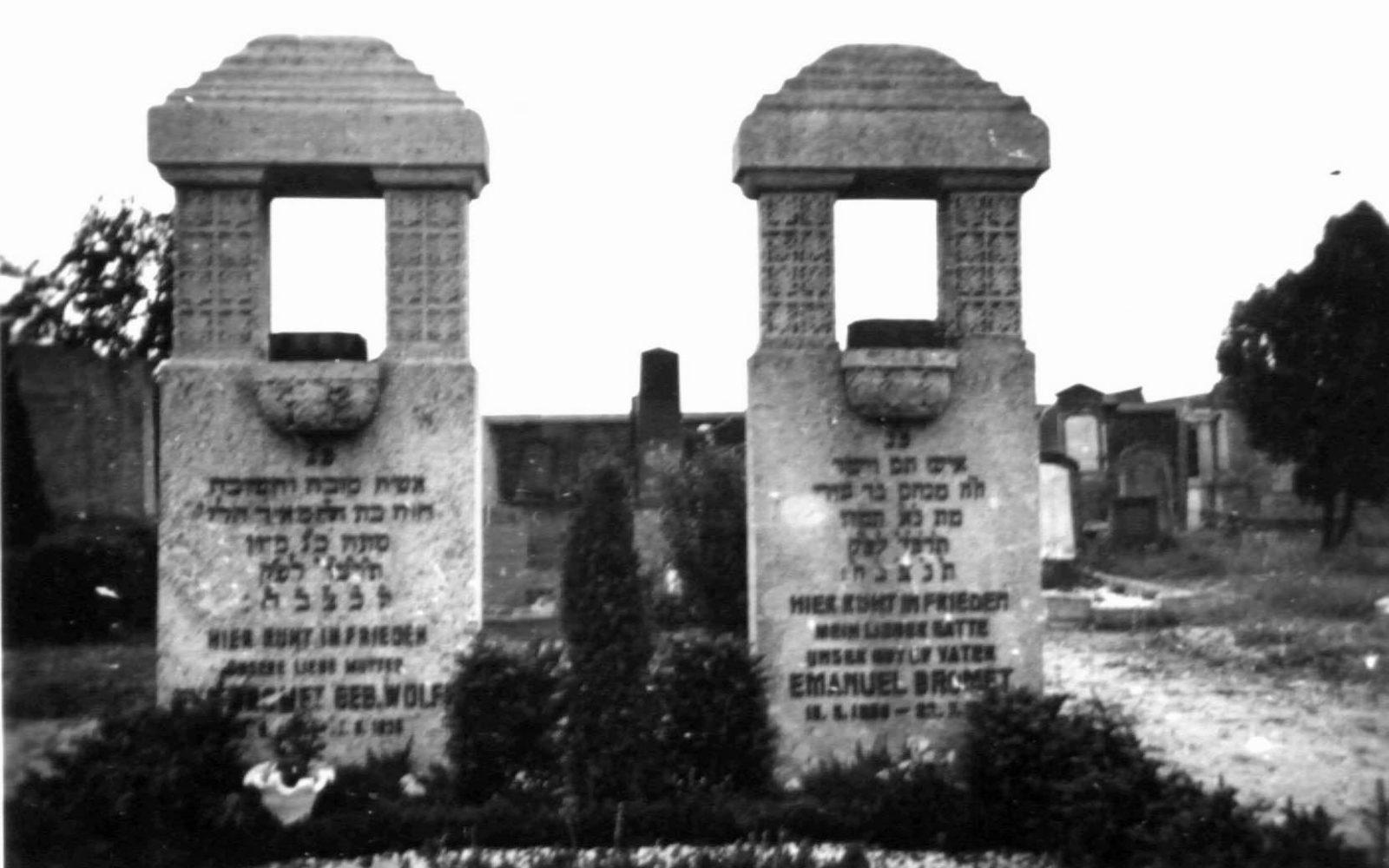 Eingang zum Jüdischen Friedhof in Dülken.