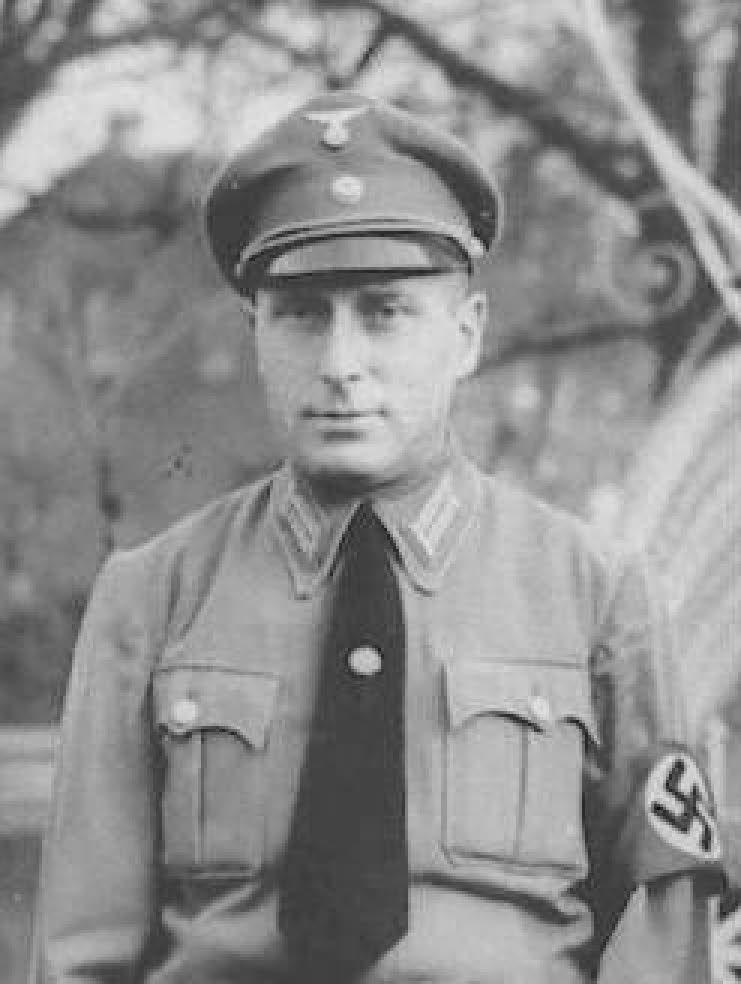 NSDAP-Bürgermeister Heinz Gebauer