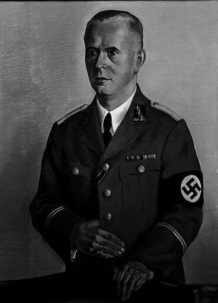 NSDAP-Bürgermeister Werner Koch