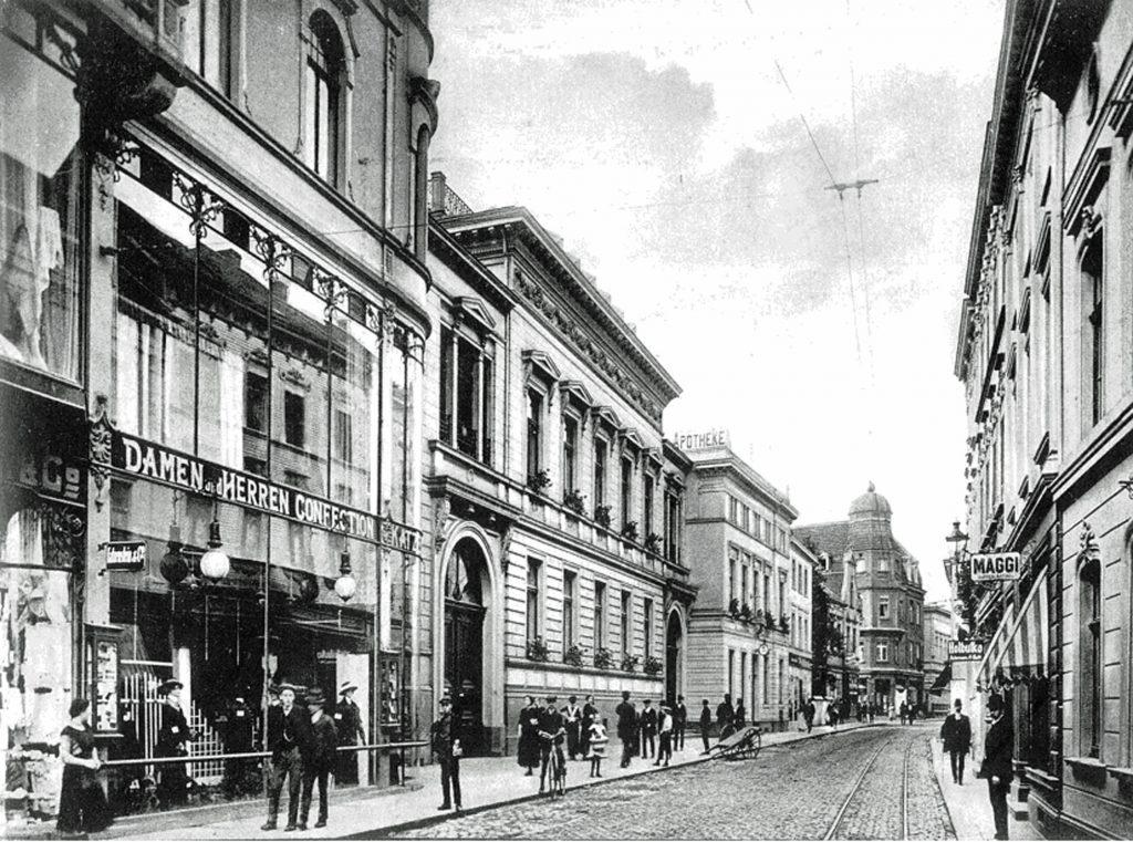 Kaufhaus Katzenstein, Hauptstraße Viersen